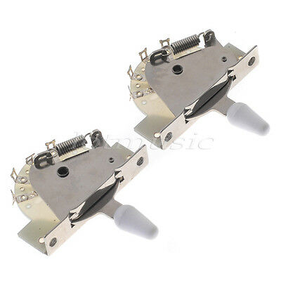 2 Pcs Vintage 5 Way Guitar Lever Switch For Fender Strat Tele Guitar Parts • 11.29£