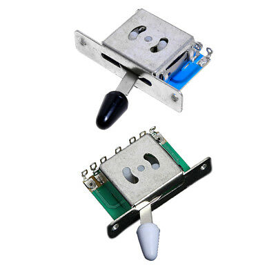 2 Pcs Different Guitar 5 Way Pickup Selector Switches For Fender Tele Strat • 4.78£