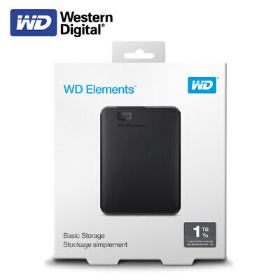 Western Digital 1TB Elements Portable External Hard Drive USB 3.0 With Tracking# • 56.91£