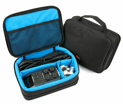 Storage Case With Blue Adjustable Inserts Zoom H4N Pro / H5 / H6 Audio Recorder • 18.99£