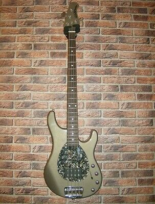 MUSIC MAN STERLING 4 Strings Teal Pearl Bass Electric