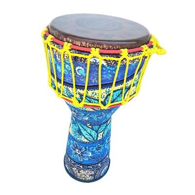 8inch African Bongo Hand Djembe Drum Handheld Percussion Instrument For Band • 44.34£