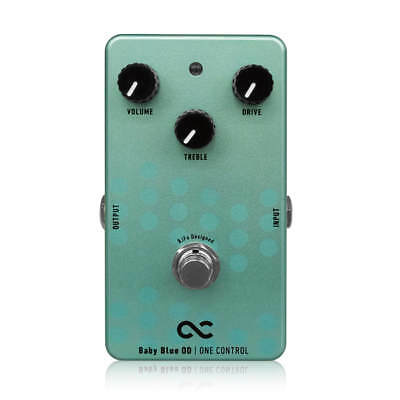 One Control Baby Blue OD BJFe Series Overdrive Guitar Effects Pedal • 163.87£