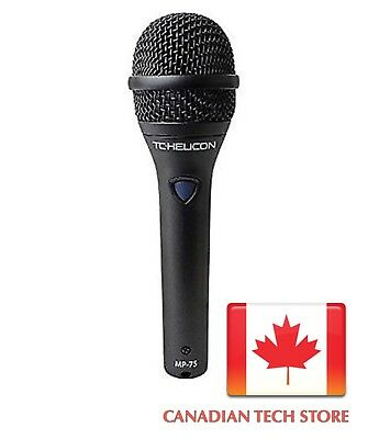 TC Helicon Vocal Microphone MP-75 Dynamic Microphone Super Cardiod New • 175.81£