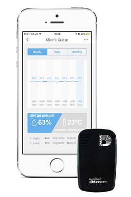 New D'Addario Humiditrak - Bluetooth Humidity And Temperature Sensor Planet Wave • 37.71£