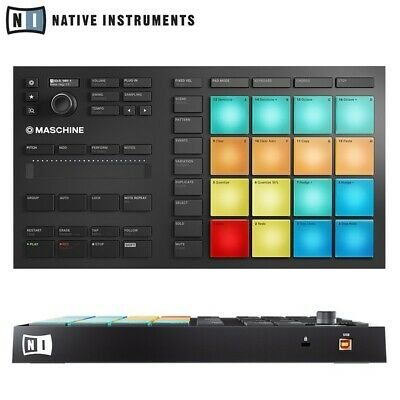 Native Instruments Maschine Mikro MK3 Compact USB Studio Production Controller • 199£