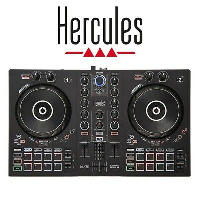 Hercules DJ Control Inpulse 300 USB 2-Channel DJ Controller With RGB Pads • 179£