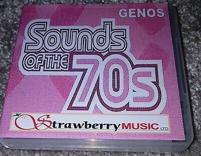 SOUNDS OF THE SEVENTIES Genos DOWNLOAD 1000 Registrations For Yamaha Genos  • 52.50£