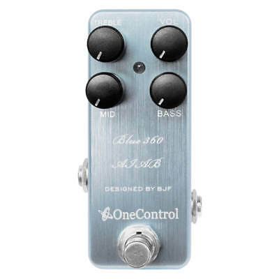 One Control Blue 360 Bass Pre-Amp Amp-In-A-Box Bass Guitar Effects Pedal • 124.03£