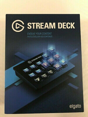 Elgato Stream Deck - Live Content Creation Controller With 15 Customizable LC... • 155.37£