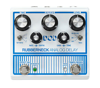 DigiTech DOD Rubberneck Analog Delay Guitar Effects Pedal • 217.80£