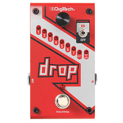 DigiTech The Drop Polyphonic Drop Tune Guitar Effects Pedal • 166.38£