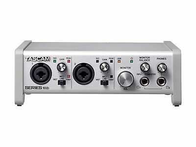 TASCAM SERIES 102i 10 IN/2 OUT USB Audio/MIDI Interface • 382.97£