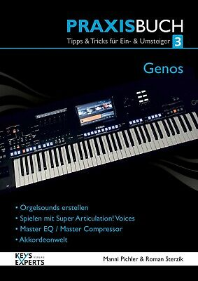 The Practice Book For Yamaha Genos Keyboard Band 3 130 Pages Language German • 46.54£
