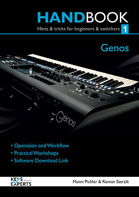 Handbook For Yamaha Genos Keyboard Part 1 129 Pages Language English Keysexperts • 46.08£
