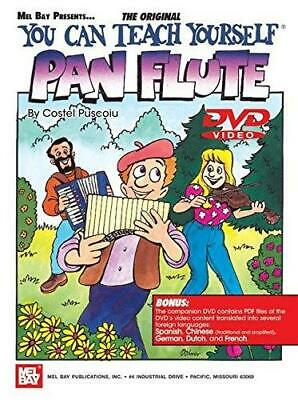 You Can Teach Yourself Pan Flute Book/DVD Mel Bay Method Lessons  • 15.34£