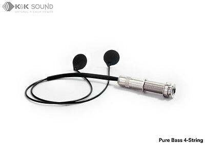 K&K Pure Bass/Tenor/Cittern (acoustic 4-string) Transducer System **FREE POST** • 99£