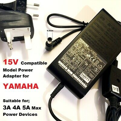 Compatible 15V 3A Adapter For Yamaha 15V 2.56A, EADP-38EB A, THR10 THR10C THR10X • 19.95£