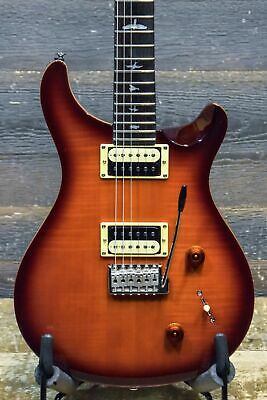 PRS SE Custom 22 Flame Maple Veneer Top Vintage Sunburst Electric Guitar #A23502 • 519.40£