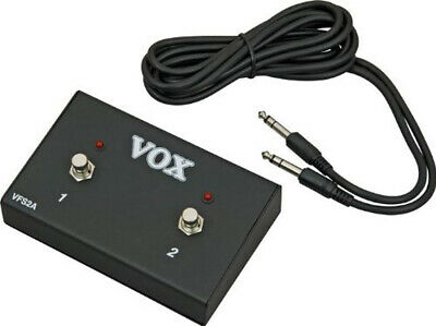 Vox VFS-2A Dual Footswitch VFS2A Foot Switch • 54.95£