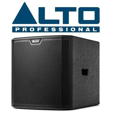 Alto TS315S Active Powered DJ Disco Club Bar 15  1000W RMS Subwoofer • 429£