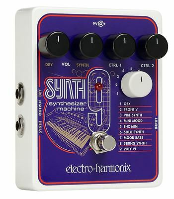 Electro-Harmonix Synth 9 Synthesizer Machine Pedal • 173.55£