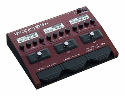 NEW Zoom B3n Multi Effect Processor Stomp Pedal For Bass From Japan F/S • 211.29£