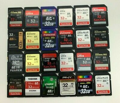 SanDisk Ultra Extreme Plus Pro Generic 2/4/8/16/32/64/128/256 GB SD Memory Cards • 3.69£