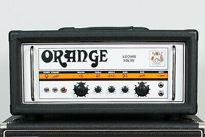 Orange AD200B Mk. 3 Bass Amplifier In Black + Official Soft Cover • 1,499£
