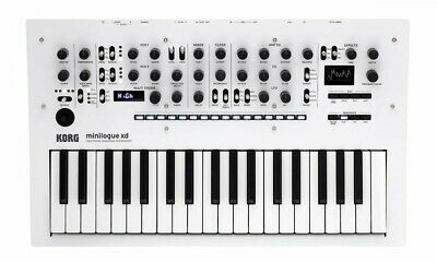 KORG / Minilogue Xd PW Pearl White Color Analog Synthesizer From Japan • 613.55£