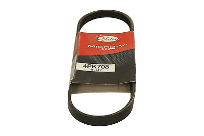 GATES 4PK708 V-Ribbed Belts GAT12G15OE REPLACEMENT • 13.99£