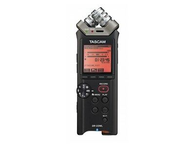TASCAM DR-22WL Portable Recorder W All New Mics/Breakthrough Wi-Fi Technology • 167.92£