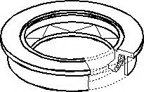 Topran 103 514 Shaft Seal, Wheel Bearing All01e04 OE REPLACEMENT TOP QUALITY • 6.49£