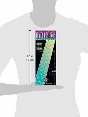 All Scales In All Positions For Guitar A Pocket Reference For Constructing And  • 18.34£