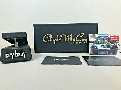 DUNLOP Clyde McCoy By Cry Baby Wah Wah Guitar Pedal Model#CM95 • 125.42£