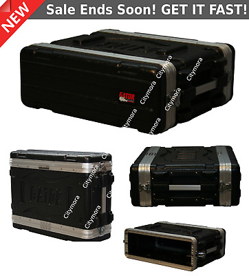 Gator GR3S Shallow Rack Case,GR ATA Lightweight Molded 3U Audio GR-3S NEW • 127.31£