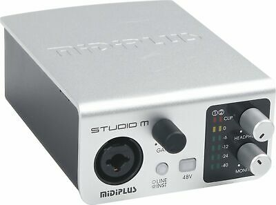 Midiplus Studio M USB Audio Interface • 92.46£