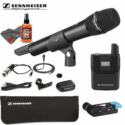 Sennheiser AVX-Comboo SET Wireless Handheld And Lavalier System For Video +Carry • 777.95£