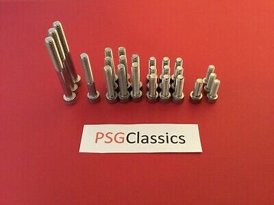 Yamaha RD350 YPVS Stainless Steel Engine Cover Allen Bolts Screws Set Kit UK RD • 7.28£