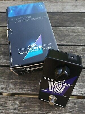 Carl Martin Hydra Boost - Free Next Day Delivery In The Uk