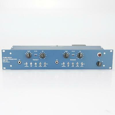 Tube-Tech MP 2A Dual Mic Pre Tube Preamplifier MP2A #39431 • 2,422.55£