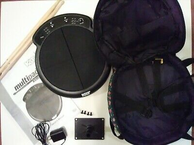 KTMP1 Multipad Drum And Percussion Pad - W/Mount, Sticks, Bag, Manual, Adapter. • 68.65£