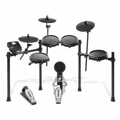 8 Piece Electronic Drum Kit With Nitro Mesh Heads And Drum Sticks Alesis • 397.97£