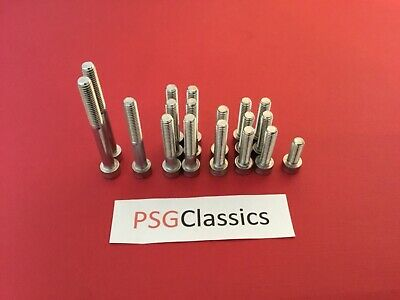 Yamaha RX100 RXS100 Stainless Steel Engine Cover Allen Screws Set Bolts Kit UK • 8.39£