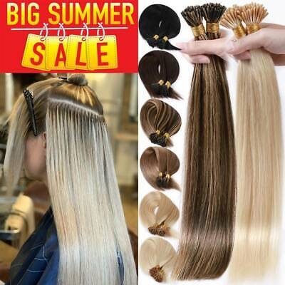 300S I TIP Micro Ring Nano Beans 100% Remy Human Hair Extensions THICK Highlight • 92.80£