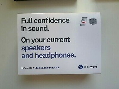 Sonarworks Reference 4 Studio Edition Software With Microphone • 50£