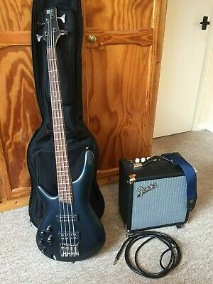 Ibanez SR300EL IPT (LH) Bass Guitar, Fender Rumble 15 Bass Amp And Accessories • 400£