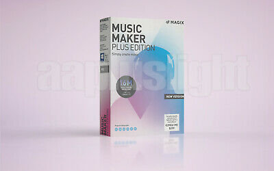 MAGIX Music Maker - Plus Edition 2019 - Produce, Record And Mix Music • 31.48£