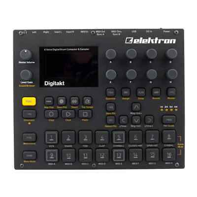 Elektron Digitakt Sampler Drum Machine Midi Sequencer Pristine Condition  • 579£