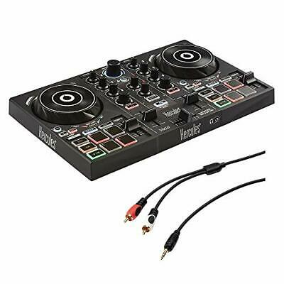Hercules DJ Control Inpulse 200 W/ /8  Stereo Mini To Dual RCA Y-Cable (6') Kit • 96.24£